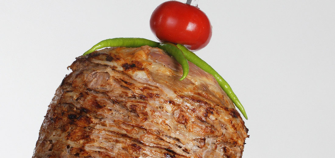 Special döner made from minced veal from the house of Polat Döner